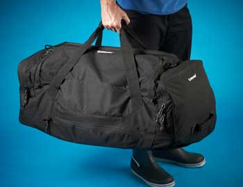 CREWSAVER ANSWER WET AND DRY HOLDALL