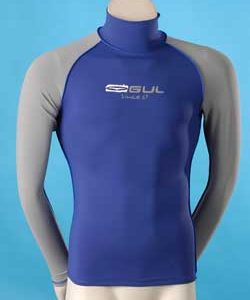 GUL LONG SLEEVE FLATLOCK RASH VEST