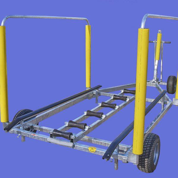 rib trolleys at Dell quay